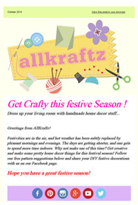 Get Crafty this festive Season !